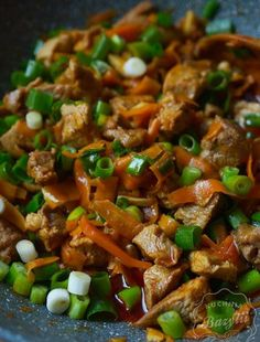 Kurczak zapiekany w ryżu z warzywami - danie przygotujesz w piekarniku Butter Brioche, Quesadilla, Kitchen Recipes, Lunches And Dinners, Kung Pao Chicken, Meal Prep, Beans, Pork, Food And Drink