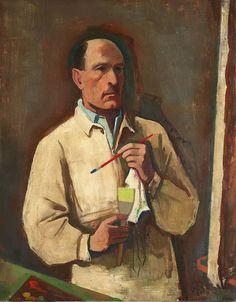 Karl Hofer - Selbstbildnis (1935)