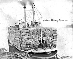 Louisiana History Museum Picture of the Week Louisiana Usa, Louisiana History, Alexandria Louisiana, Steam Boats, Mississippi Delta, Paddle Boat, Old Boats, Steamers, Pictures Of The Week