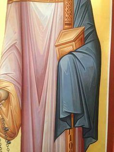 Byzantine Icons, Byzantine Art, Icon Clothing, Greek Icons, Religious Icons, Art Icon, Orthodox Icons, Draped Fabric, Sacred Art