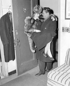 Lucille Ball & Desi Arnaz honeymooning in 1940
