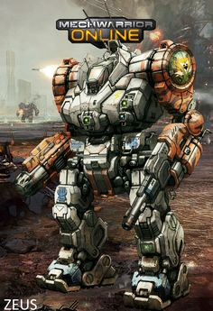 Zeus, concept art from MWO