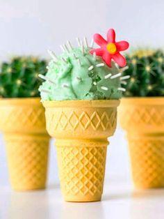 ¿Buscas un postre divertido, delicioso y original? ¡Inspírate en los postres de cactus más famosos de Pinterest!
