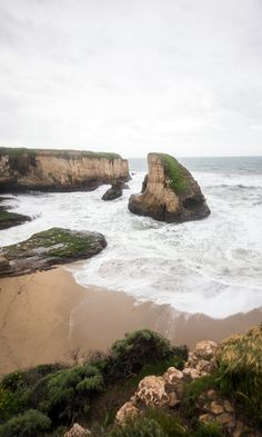 Shark Fin Cove: One of Northern California's Best Beaches