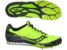 Saucony Velocity 4 Mens Distance Running Spikes