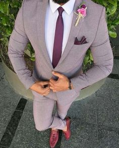 Dress Outfit Men Suits Mens Fashion Ideas For 2019 Wedding Dress Men, Wedding Men, Wedding Suits For Groom, Blazer For Men Wedding, Wedding Lingerie, Dress Suits, Men Dress, Terno Slim, Formal Men Outfit