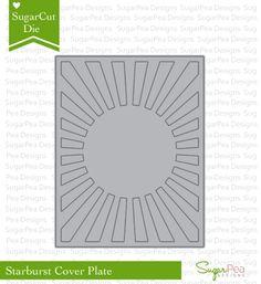 SugarCut – Starburst Cover PlateSugarPea Designs | SugarPea Designs