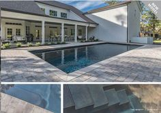 Congratulations To The Family That Had Shiner Pools Put In A Leisure Pools Allure 40 In Their