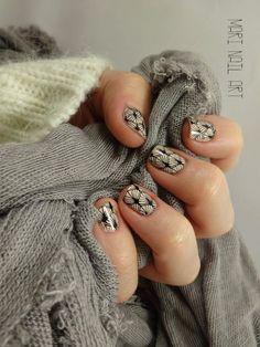 Mari-nail-art: Douceur et éventails moyou fairytale