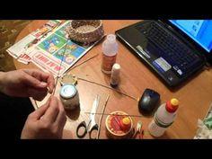 мк узелковое плетение - YouTube