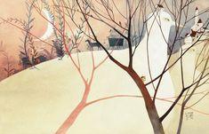 Eunsil Chun   ILLUSTRATION   The Wind in the Willows
