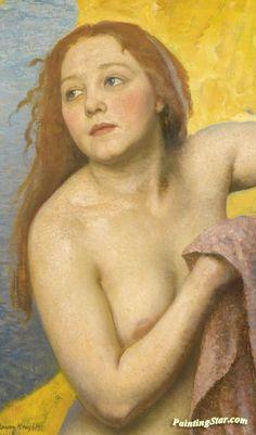 The Bather by Dame Laura Knight on Curiator, the world's biggest collaborative art collection. Munier, English Artists, British Artists, Irish Art, Collaborative Art, Classical Art, Figure Painting, Canvas Art Prints, Figurative Art