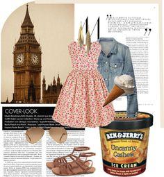"""""""Ice Cream Salon Contest"""" by itsonlyme-xoxo ❤ liked on Polyvore"""