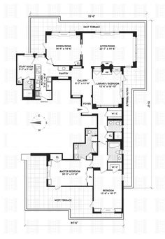 50 Sutton Place South PHH - $6,150,000, Midtown East, NYC | Halstead Property