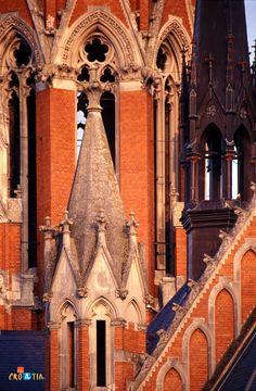 The Church of St Peter and St Paul in Osijek, Croatia Istria Croatia, Thousand Islands, Central Europe, Bucharest, Macedonia, Albania, Slovenia, Dream Vacations, Old Town