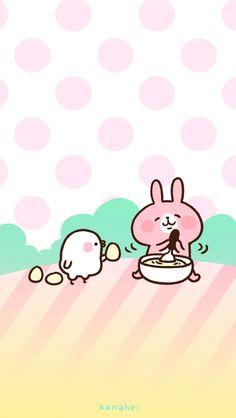 Kanahei beating eggs