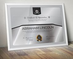 15 best certificate of appreciation template psd ai pdf images on certificate of appreciation template psd ai pdf and eps format yelopaper Choice Image