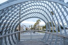 Open-air art is the guiding theme behind this piece in Tongva Park