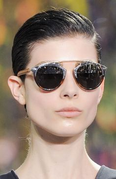a02b17a88a Christian Dior at Paris Spring 2014 (Details) Sunglasses Dior So Real