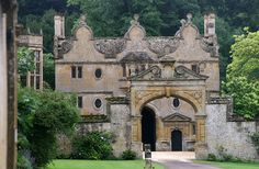 Stanway House, Cotswold  Gloucestershire England. Owned by Tewkersbury Abbey for 800 years, then for 500 years by the Tracy family and their descendents.
