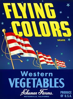 Flying Colors Western Vegetables