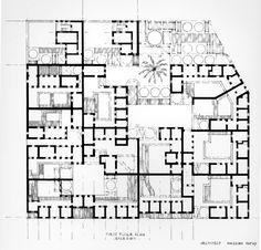 New Barrid Village Kharga, Egypt. 1967 Architect: Hassan Fathy