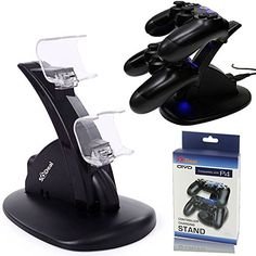 SQDeal Dual USB Charging Charger Docking Station Stand for Playstation 4 PS4 Controller http://ift.tt/2kBxFSV
