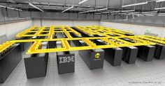 IBM has come up with a unique water cooling system that is stated to reduce the energy consumed by Europe's fastest supercomputer by as much as 40 percent. Linux, Zurich, Innovation Management, Water Cooling, Cool Technology, Ibm, Electronics, Cool Stuff, Computers