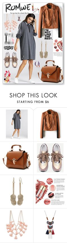"""""""Romwe"""" by eldinreham on Polyvore featuring Design Lab"""