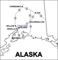 Finger Lake State Park in Wasilla AK