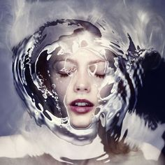 """Vienna-based photography studio Staudinger + Franke created a new photo series titled """"Barrier"""" that features beautiful portraits of women half submerged in water. Photography Series, Creative Photography, Fine Art Photography, Portrait Photography, Fashion Photography, Learn Photography, Concept Photography, Reflection Photography, Photography Aesthetic"""