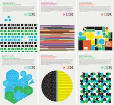 Graphic IBM Posters - AnotherDesignBlog.