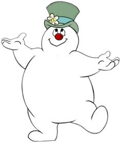 frosty the snowman is a snowman that comes to life with a magical hat trivia christmas cartoon - Christmas Cartoon Pictures