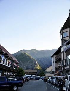 Leavenworth, Washington...a fun little town that reinvented itself so as to not disappear.