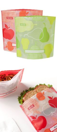 Money Saving // Reusable Sandwich Bags