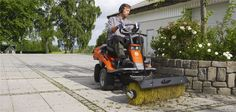 New some ride on mower parts? we can help with that. A Husqvarna Rider adapts well to all seasons. So instead of buying different machines, consider a ride-on mower with its extensive range of attachments. We have trailers, brooms, snow throwers and more that make them useful and versatile all year around.