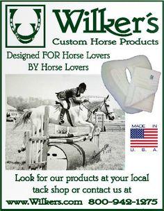 Wilker's Custom Horse Products www.Wilkers.com