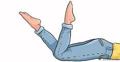 Disse 7 øvelser fra Japan er ideelle for kvindekroppen Pilates Training, Pilates Workout, Squat Workout, Yoga Fitness, Fitness Tips, Health Fitness, Sore Legs, Circulation Sanguine, Healthy Exercise