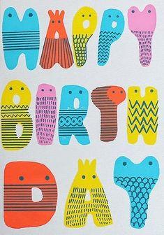 Happy Birthday #Illustration