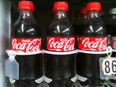 Coca-Cola in 370ml (12.5 fl oz) PET bottles distributed by Coca-Cola Refreshments in the US