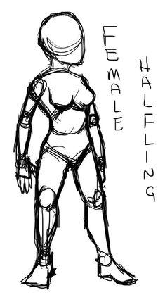 female halfling by skillskillskill