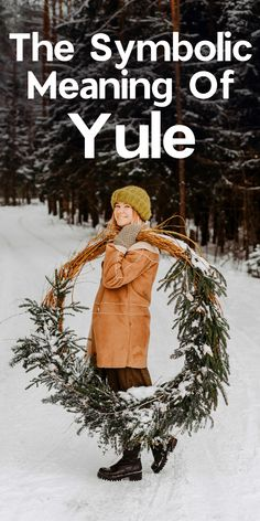 What is the real meaning of Yule? Learn about the symbolism of this pagan holiday. Whether you're Wiccan, Christian pagan, or an Eclectic Witch, it he. Yule Traditions, Winter Solstice Traditions, Pagan Yule, Wiccan, Pagan Witch, Witches, When Is Winter Solstice, Summer Solstice, Winter Solstice Quotes