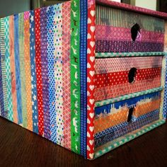 Lots of washi tape ideas and inspiration.