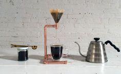 Copper Pour Over Coffee Maker