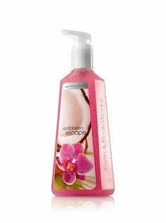 Bath and Body Works Anti-Bacterial Deep Cleansing Hand Soap Caribbean Escape by Bath & Body Works.
