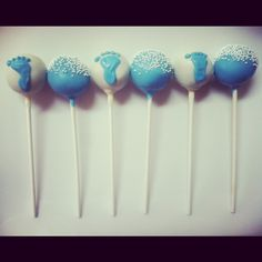 Gender Reveal Cake Pops | Amys Cake Pop Shop!: Baby Gender Reveal!