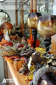Mums make lists ...: Thanksgiving Decorations