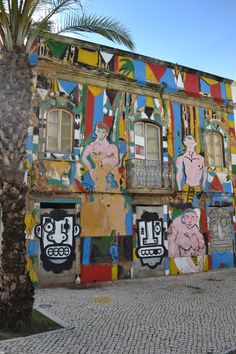 Tagged building // Faro Portugal