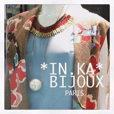 IN.KA BIJOUX PARIS NEW COLLECTION PAR LA CREATRICE DE BIJOUX *IN.KA* PARIS NEW COLLECTION 2015 * BOHEME CHIC* BOUTIQUE A SAINT TROPEZ