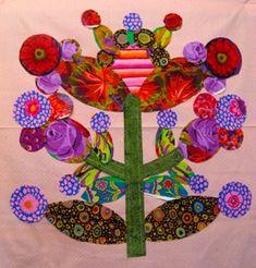 more lollipop trees Flower Applique Patterns, Hand Applique, Applique Quilts, Quilt Patterns, Modern Quilt Blocks, Circle Quilts, Primitive Quilts, Primitive Patterns, Quilting Projects
